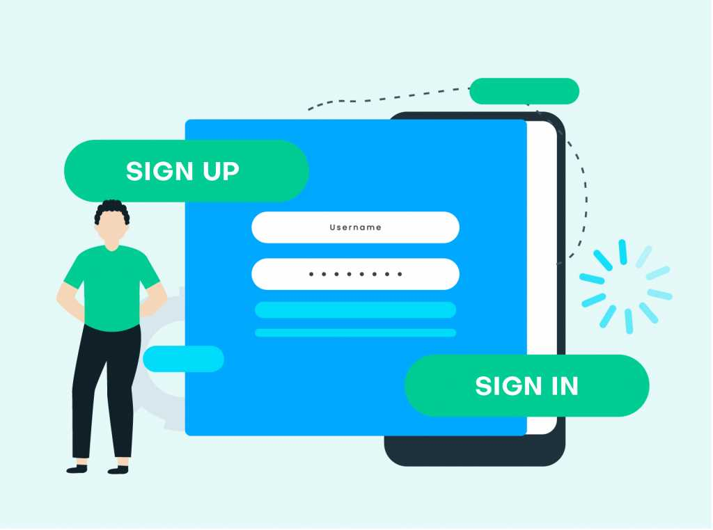 make-sign-in-and-sign-up-visually-distinct